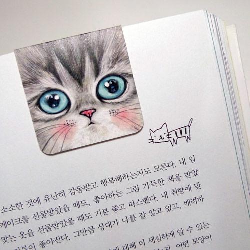 고양이삼촌 마그네틱 북마크