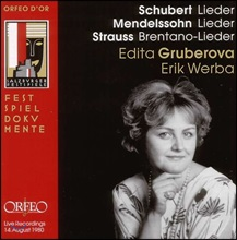 Edita Gruberova 슈베르트 / 멘델스존 / 리하르트 슈트라우스: 가곡집 (Schubert / Mendelssohn / R. Strauss: Lieder)