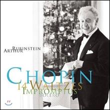 Arthur Rubinstein 쇼팽: 왈츠, 즉흥곡 - 아르투르 루빈스타인 (Chopin: 14 Waltzes, Impromptus, Fantaisie-Impromptu op.66, Bolero op.19)