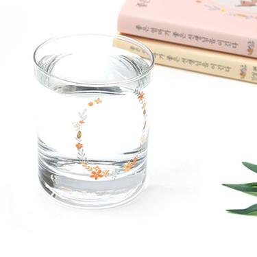 꽃 일러스트 유리컵