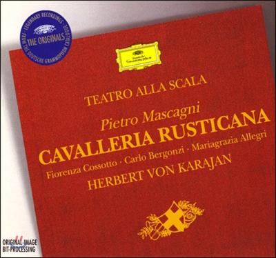 Herbert Von Karajan 마스카니: 카발레리아 루스티카나 (Mascagni: Cavalleria Rusticana) 헤르베르트 폰 카라얀