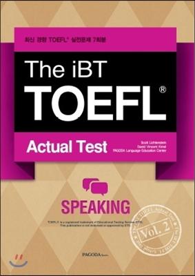 The iBT TOEFL Actual Test vol. 2 Speaking
