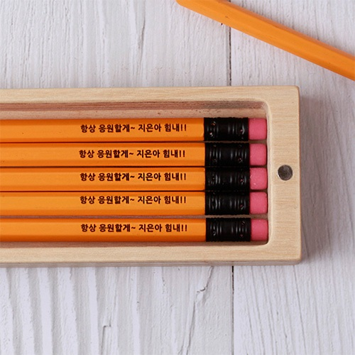 [주문제작]네임연필2B 12자루스테들러