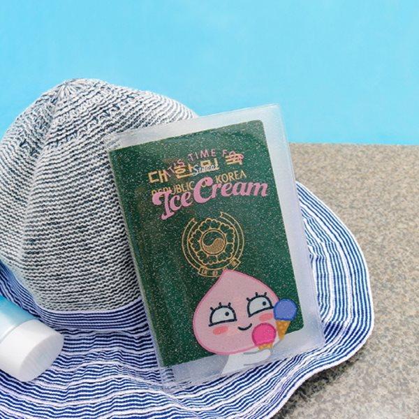 카카오프렌즈 썸머 투명 여권케이스