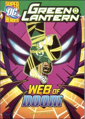 Capstone Heroes(Green Lantern) : Web of Doom