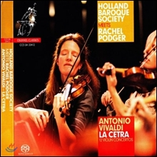 Rachel Podger 비발디: 바이올린 협주곡집 Op.9 라 체트라 (Vivaldi : La Cetra 12 Violin Concertos op.9) 레이첼 포저