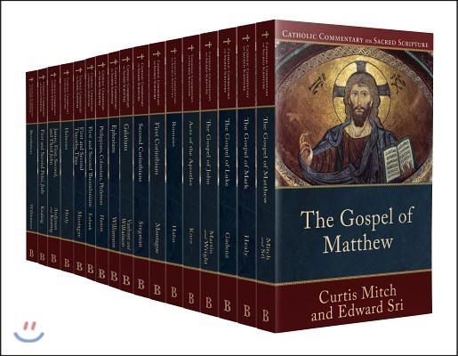 Catholic Commentary on Sacred Scripture New Testament Set