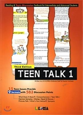 Teen Talk 1. Student Book, 3판