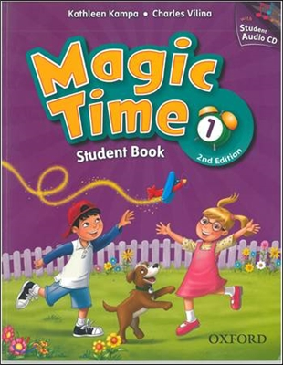 Magic Time 1 Student Book With CD [2nd Edition]