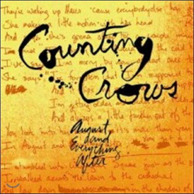 Counting Crows - August And Everything After (Back To Black - 60th Vinyl Anniversary)