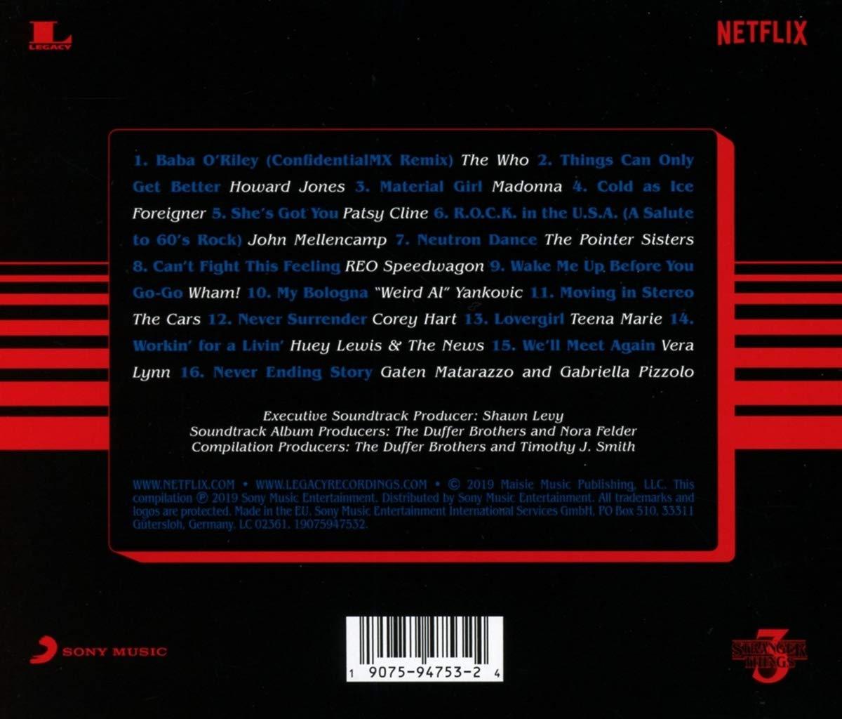 기묘한 이야기 시즌 3 넷플릭스 드라마 음악 (Stranger Things Season 3 OST)