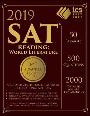 SAT Reading World Literature Practice Book 2018