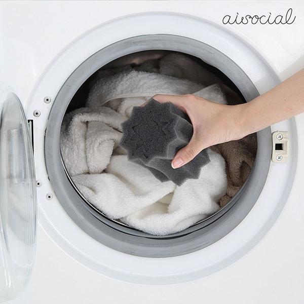 Aisocial 프리런드리 PRO 2개 SET/세탁용반려동물털제거쿠션/0070-3504