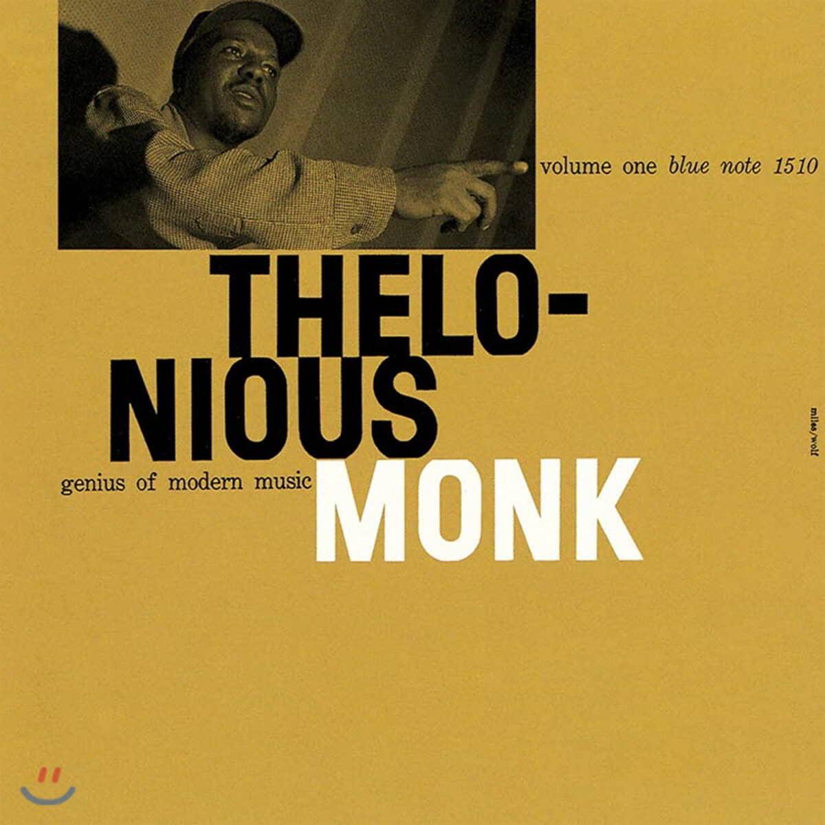 Thelonious Monk (델로니어스 몽크) - Genius of Modern Music Vol. 1