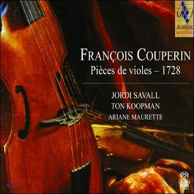 Jordi Savall 쿠프랭: 비올 작품집 (Couperin, F: Pieces de Viole) - 조르디사발