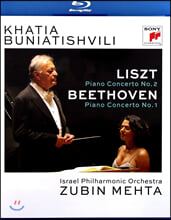 Khatia Buniatishvili 리스트: 피아노 협주곡 2번 / 베토벤: 협주곡 1번 - 카티아 부니아티쉬빌리, 주빈 메타, 이스라엘 필하모닉