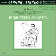 Henryk Szeryng / Arthur Rubinstein 베토벤: 바이올린 소나타 9번 `크로이처`, 5번 `봄`, 8번 (Beethoven: Violin Sonatas Nos. 9, 5, 8)