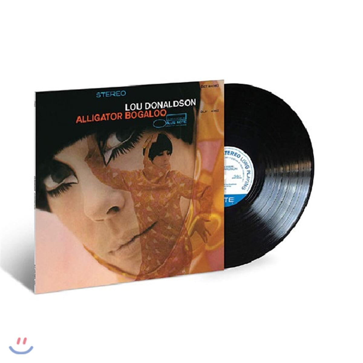 Lou Donaldson (루 도날슨) - Alligator Bogaloo [LP]