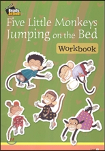 Ready Action Level 1 : Five Little Monkeys Jumping on the Bed (Workbook)