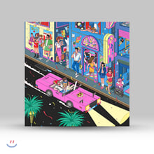동아기획 쿨사운드 모음집 (Our Town: Jazz Fusion, Funky Pop & Bossa Gayo Tracks from Dong-A Records) [네온핑크 컬러 LP]