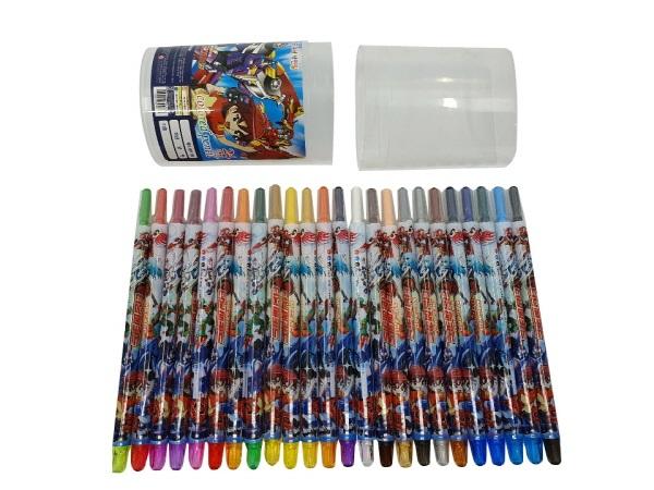 터닝메카드 24색 색연필