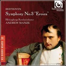 Andrew Manze 베토벤: 교향곡 3번 (Beethoven: Symphony Op. 55)