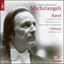 Arturo Benedetti Michelangeli 라벨: 밤의 가스파르, 피아노 협주곡 외 / 드뷔시: 어린이 차지 - 미켈란젤리