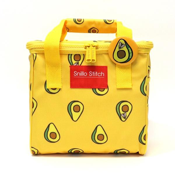 스닐로스티치 아보카도  보냉피크닉가방