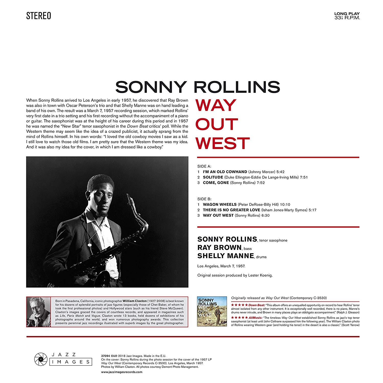 Sonny Rollins (소니 롤린스) - Way Out West [LP]