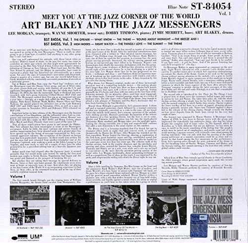 Art Blakey & The Jazz Messengers (아트 블랭키 앤 더 재즈 메신저스) - Meet You In The Jazz Corner Of The World Vol.1 [LP]