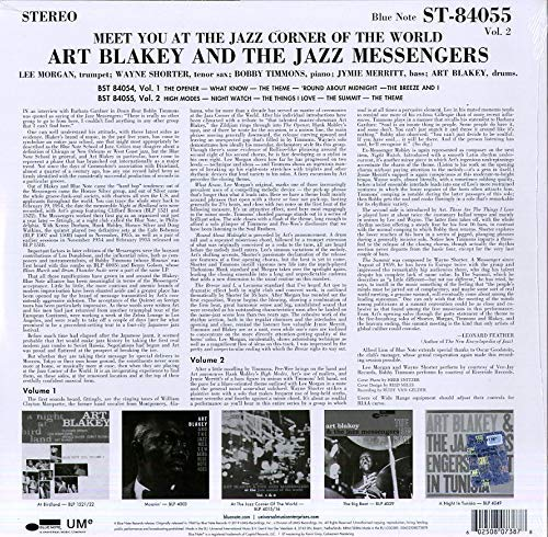 Art Blakey & The Jazz Messengers (아트 블랭키 앤 더 재즈 메신저스) - Meet You In The Jazz Corner Of The World Vol.2 [LP]