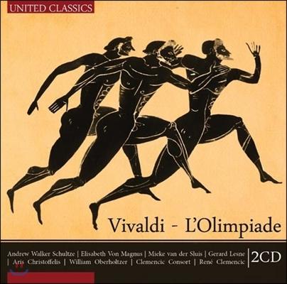 비발디 : 오페라 올림피아데 - 르네 클레멘칙