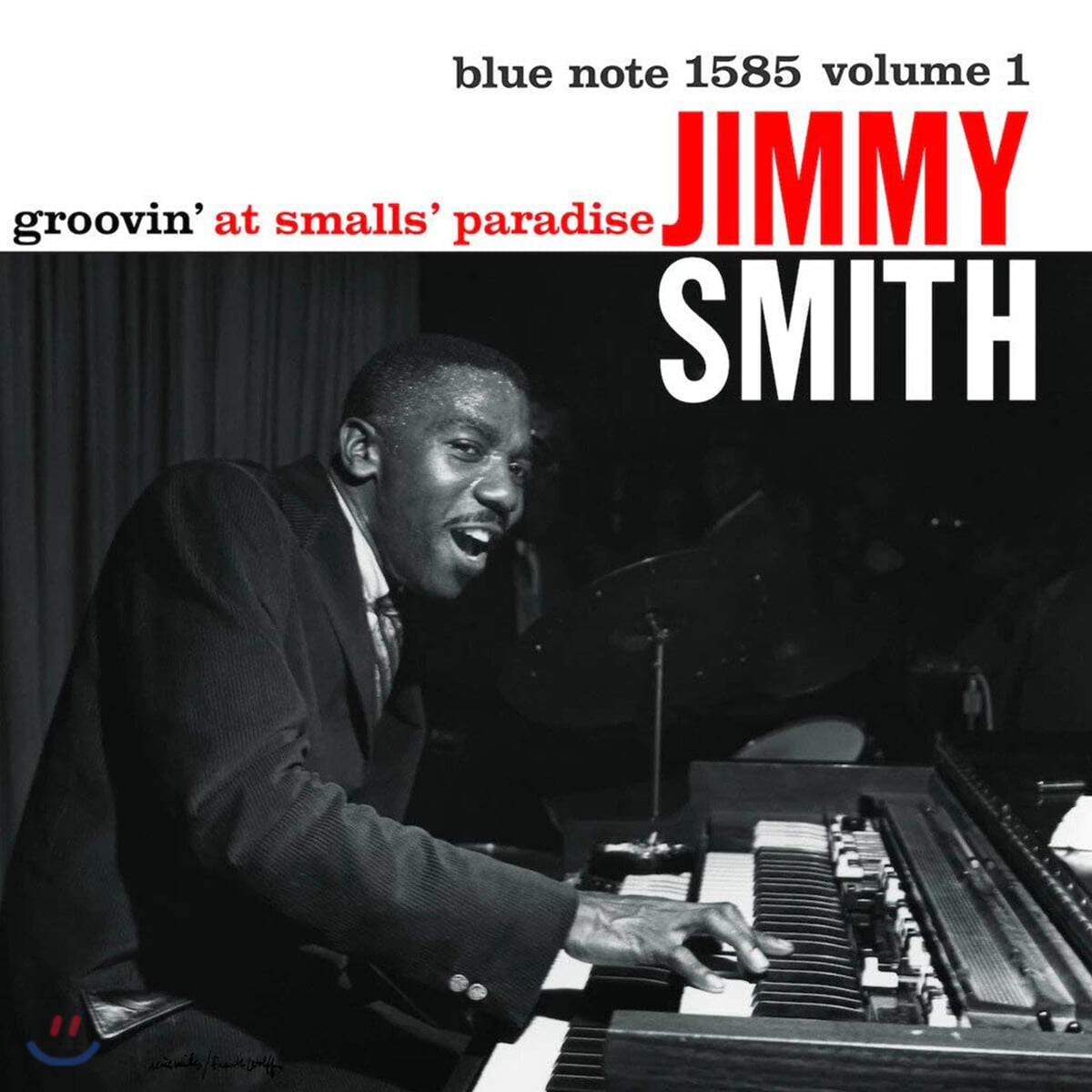 Jimmy Smith (지미 스미스) - Groovin' At Small's Paradise Vol.1 [LP]
