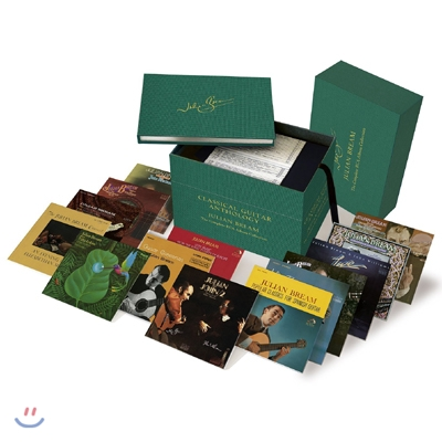 Julian Bream Classical Guitar Anthology - The Complete RCA Album Collection 줄리안 브림 클래식 기타 앤솔로지 [40CD+2DVD 한정반]