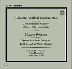 Boston Symphony Orchestra 모차르트 : 레퀴엠 (케네디 추모 공연 최초 CD화) - 라인스도르프