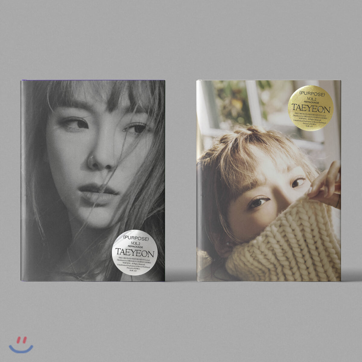 태연 (Taeyeon) 2집 리패키지 - Purpose [Purple 또는 Beige 버전 중 랜덤 1종 발송]