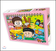흔한남매 직소퍼즐 150피스 : 편의점 먹방