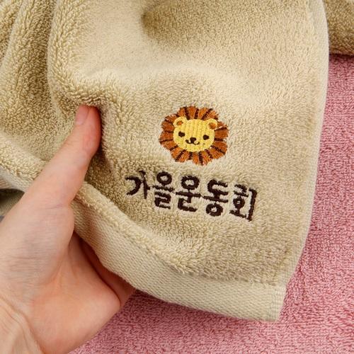 [주문제작]어린이집네임수건송월 애니멀