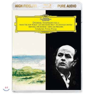 Ferenc Fricsay 드보르작: 교향곡 9번 `신세계로부터` / 스메타나: 몰다우 / 리스트: 전주곡 (Dvorak: Symphony No.9 / Smetana: The Moldau / Liszt: Les Preludes) 페렌츠 프리차이