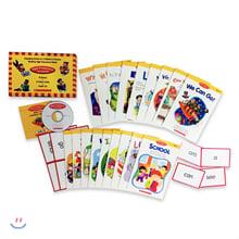 스콜라스틱 하이 프리퀀시 리더스 박스 세트 : High Frequency Readers box Set With CD & Flashcard