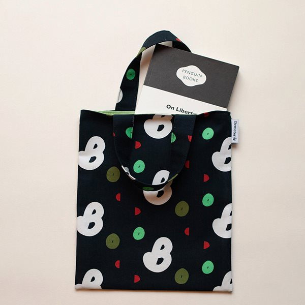 데메테르앤드 book-black mini bag