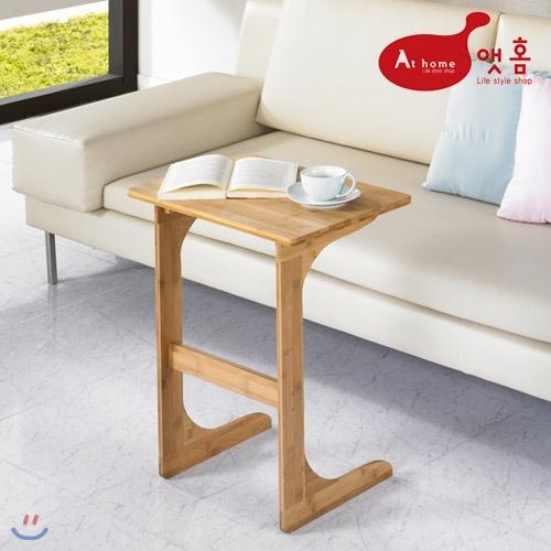 [특가] 앳홈 대나무 원목 이즈 중형 사이드 테이블