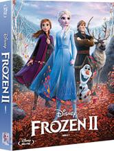 겨울왕국2 (2Disc 스틸북 + OST CD 한정판) : 블루레이