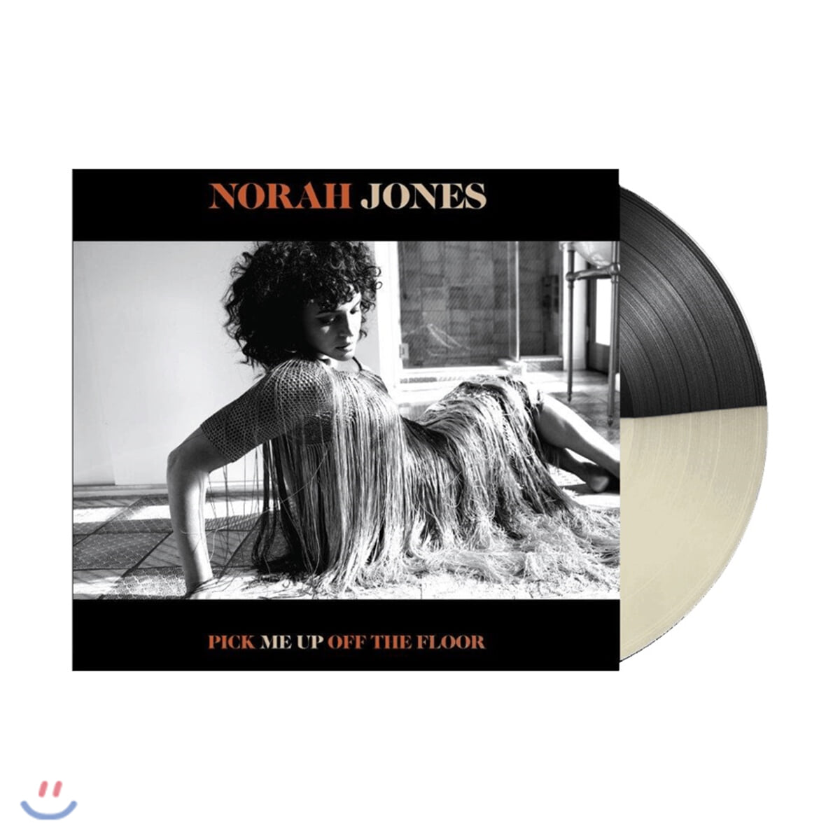 Norah Jones (노라 존스) - 7집 Pick Me Up Off The Floor [블랙 & 화이트 컬러 LP]