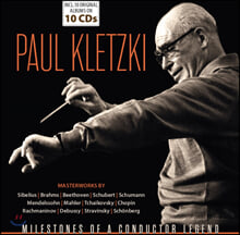 파울 클레츠키 지휘 모음집 (Paul Kletzki - Milestones of a Conductor Legend)