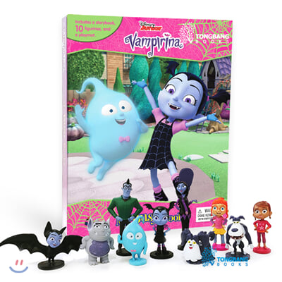 Disney Jr. Vamperina My Busy Books 디즈니 주니어 리나는 뱀파이어 비지북