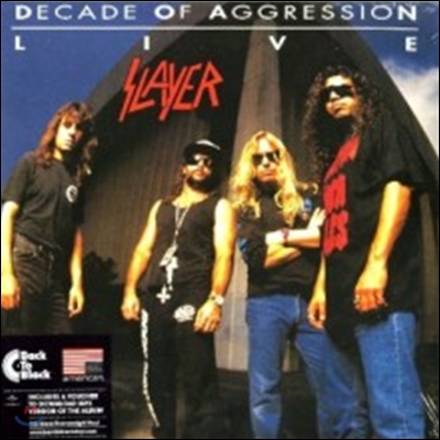 Slayer - Live: Decade Of Aggression (Back To Black Series)