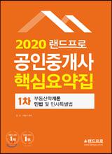 2020 랜드프로 공인중개사 핵심요약집 1차