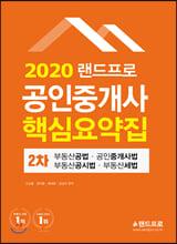 2020 랜드프로 공인중개사 핵심요약집 2차