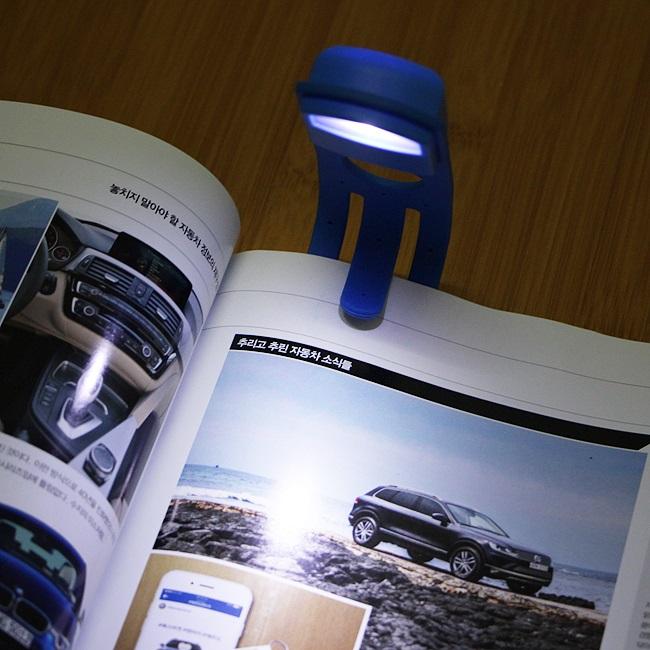 LED 조명 북라이트/시력보호 캠핑 책갈피 독서등